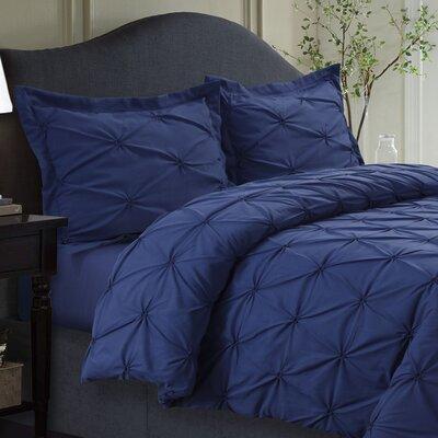 Sydney Duvet Set Size: King, Color: Moonlight