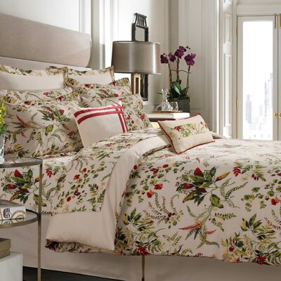 Maui 100% Cotton 5 Piece Duvet Set Size: Queen
