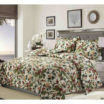 Starke Solid or Printed Oversized Quilt Set Size: Queen