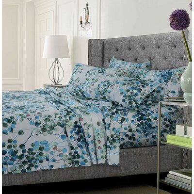 Kaydence Ultra-Soft Solid or Printed Extra Deep Pocket Sheet Set Size: California King