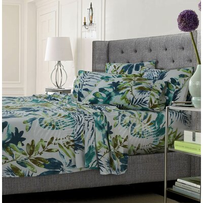 Wildwood Ultra-Soft Solid or Printed Extra Deep Pocket Sheet Set Size: Queen