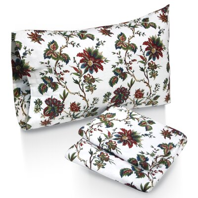 Tribeca Living Rainforest Printed Sheet Set - Size: Queen at Sears.com