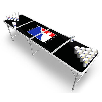 Official beer pong tables- bpong table in black