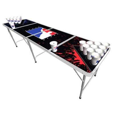 Official beer pong tables - BPong Splatter edition
