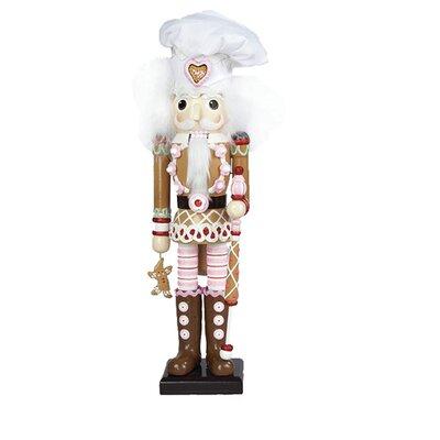 """17"""" Hollywood Gingerbread Nutcracker C6022"""