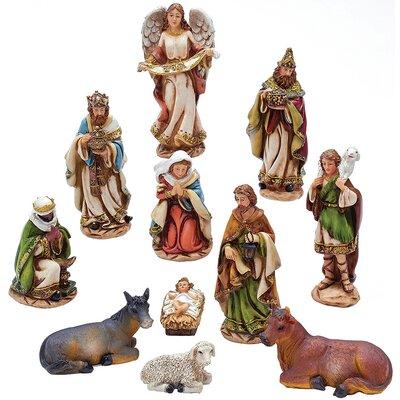 11 Piece Nativity Figures Set N0288