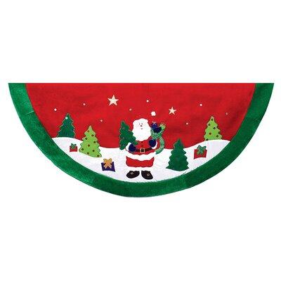 Santa Scene Treeskirt TS0171