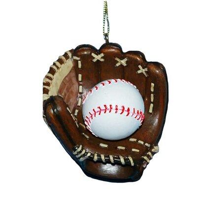 Resin Baseball Glove Ornament H8134