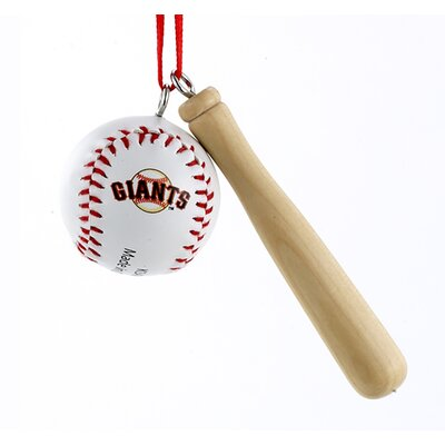 San Francisco Giants Bat and Baseball Ornament MB0012SFG