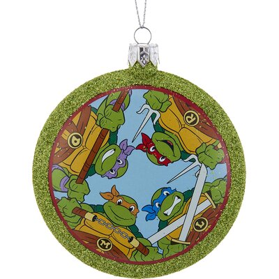Teenage Mutant Ninja Turtles Shatterproof Disc Ornament TM1162