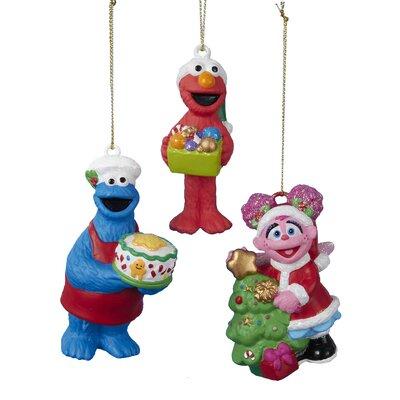 3 Piece Sesame Street Ornament Set SE1151ST