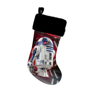 Battery-Operated R2D2 Sound Stocking Holder SW7174