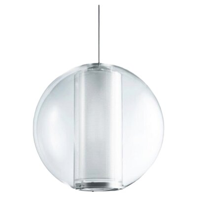 Bel Occhio 1-Light Globe Pendant Color: White