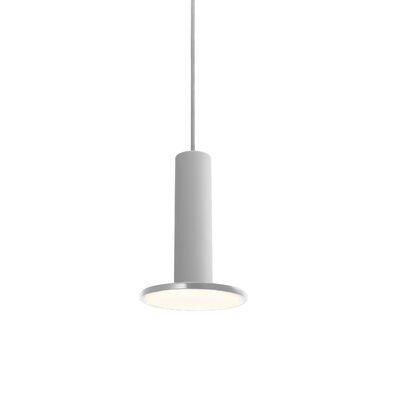 Cielo 1-Light Pendant Color: Gray, Cord Color: Gray