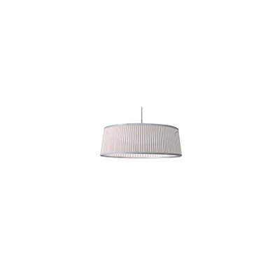 Solis 1-Light Drum Pendant Shade Color: White, Size: 36 DIameter