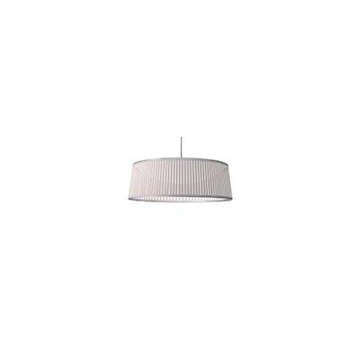 Solis 1-Light Drum Pendant Shade Color: White, Size: 36 DIameter