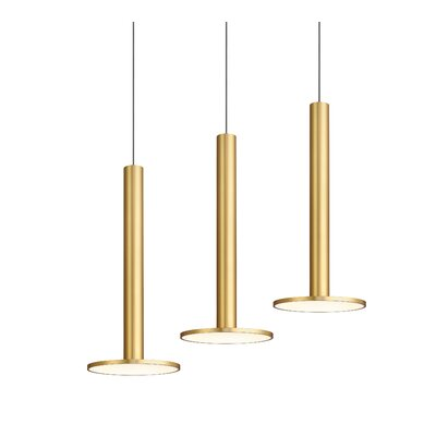 Cielo XL LED Mini Pendant Finish: Brass