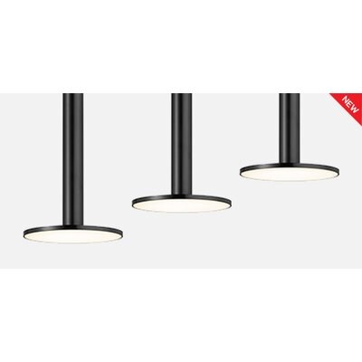 Cielo XL LED Mini Pendant Shade Color: Black
