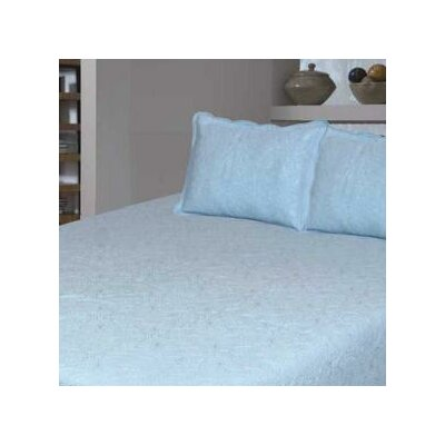 Bouquet Matelasse Cotton Throw Color: Off White