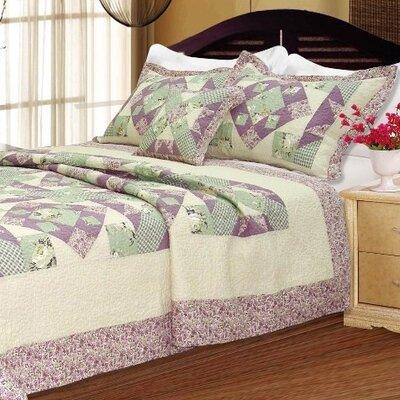 Lancaster Patchwork Quilt Size: Twin