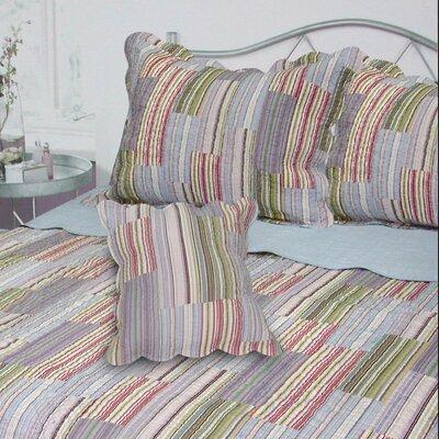 Dayton Stripe Quilt Size: King