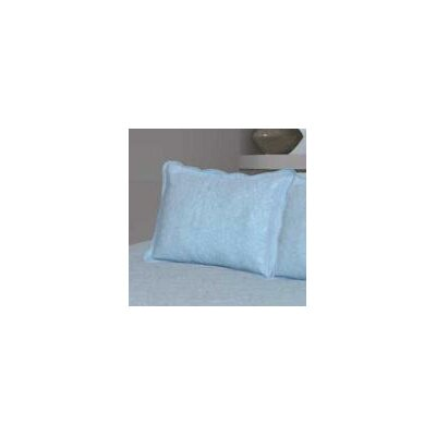 Savin Matelasse Sham Color: Blue
