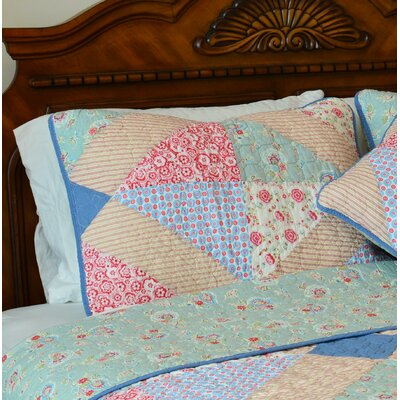 Angie Patchwork Reversible Pillow Sham
