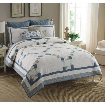 Carlisle Embroidered 3 Piece Set Size: King