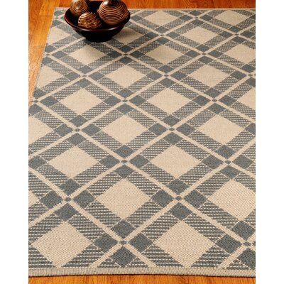 Waterbury Dhurrie Beige/Gray Area Rug Rug Size: Rectangle 6 x 9