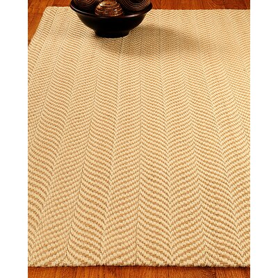 Jute Vista Gold Area Rug Rug Size: Rectangle 6 x 9
