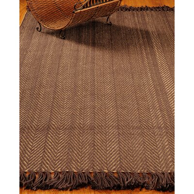 Graphic Brown/Tan Stripes Area Rug Rug Size: 9 x 12