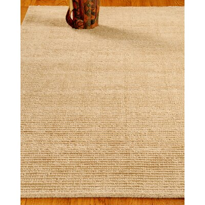 Wool Petra Wheat Area Rug Rug Size: 6 x 9