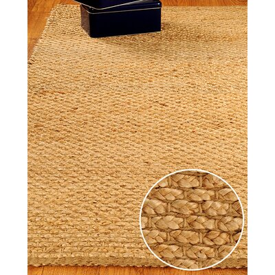 Jute Guilded Area Rug Rug Size: Rectangle 8 x 10