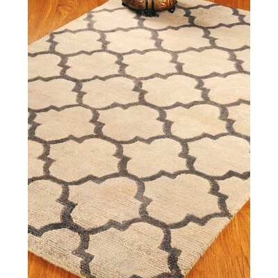 Wool Piedmont Tan Area Rug Rug Size: Rectangle 6 x 9