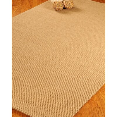 Jute Vejuvio Area Rug Rug Size: Rectangle 4 x 6