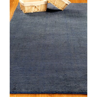 Wool Petra Navy Area Rug Rug Size: Rectangle 6 x 9