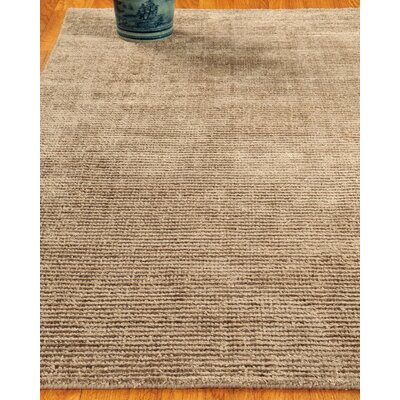 Wool Petra Taupe Area Rug Rug Size: Rectangle 8 x 10