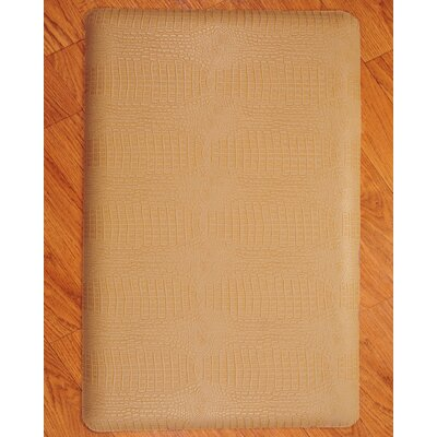 Anti-Fatigue Safari Kitchen Mat Color: Sand