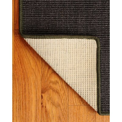 Sisal Black Encore Rug Rug Size: Rectangle 6 x 9