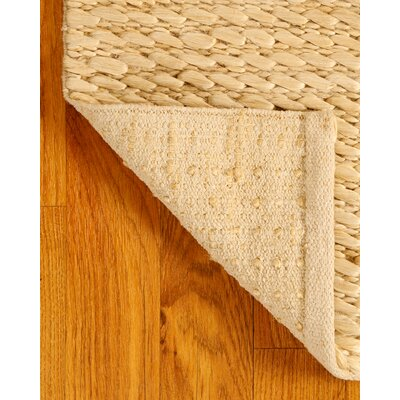 Jute Moods Natural Area Rug Rug Size: Rectangle 4 x 6