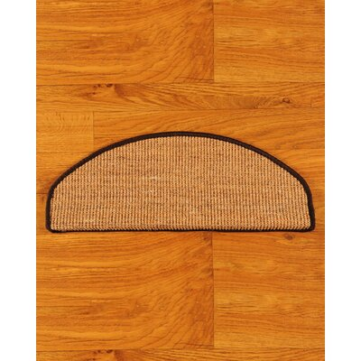 Domino Beige Euro Carpet Stair Tread