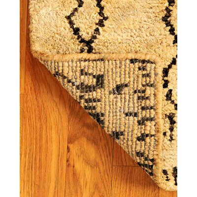 Jute Moonwalk Tan Area Rug Rug Size: 9 x 12