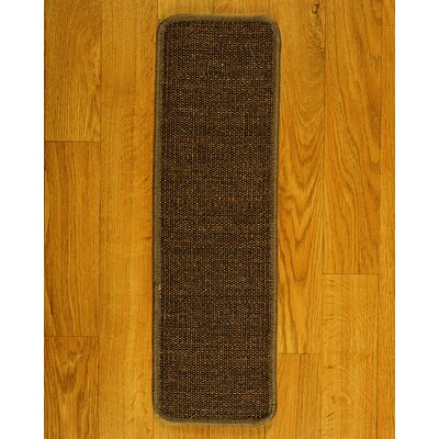 Exotics Brown Carpet Stair Tread