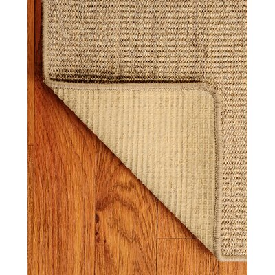 Sisal Beige Eclipse Rug Rug Size: Rectangle 6 x 9