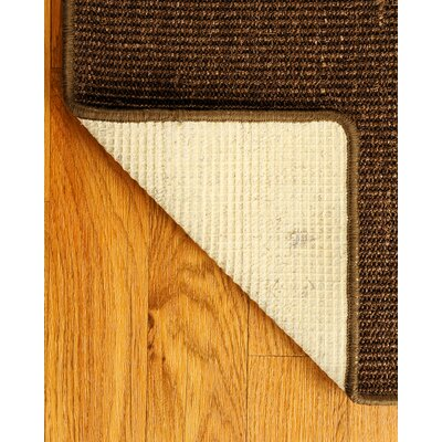 Sisal Brown Exotics Rug Rug Size: Rectangle 9 x 12