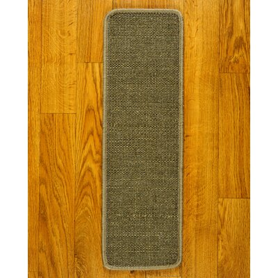 Empress Gray Carpet Stair Tread