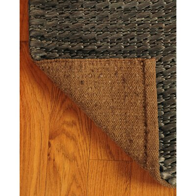 Jute Moods Espresso Area Rug Rug Size: Rectangle 9 x 12