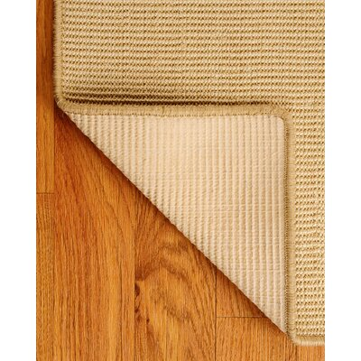 Sisal Beige Eden Rug Rug Size: Rectangle 4 x 6