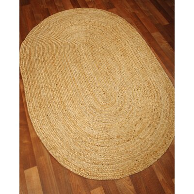 Castilla Natural Area Rug Rug Size: Rectangle 8 x 10