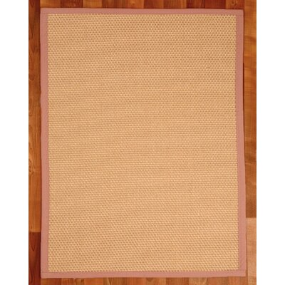 Sisal Carlton Beige Area Rug Rug Size: Rectangle 4 x 6
